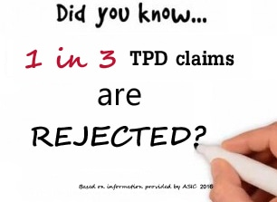 tpd claims rejected | Super Claims Australia
